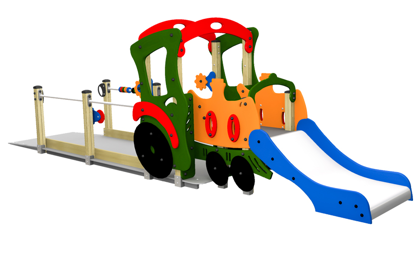 Dambis-Playground equipment-Urban Rail 2