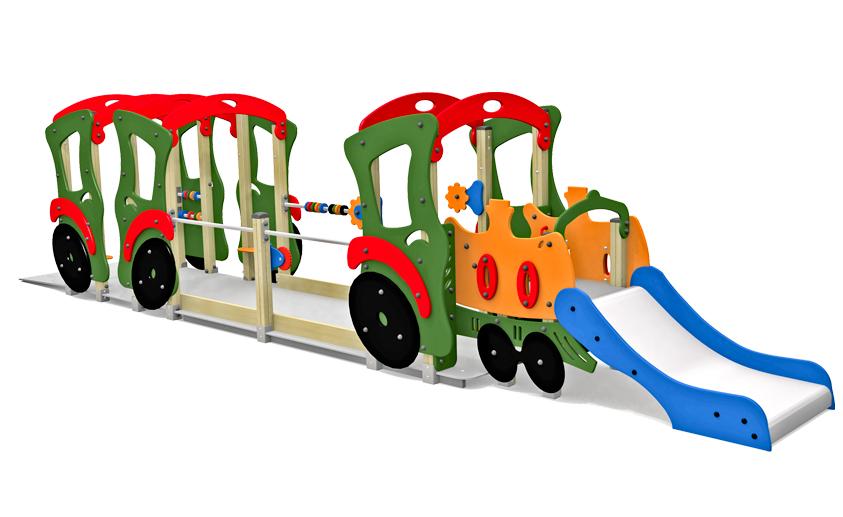 Dambis-Mänguväljaku element-Urban Rail 4