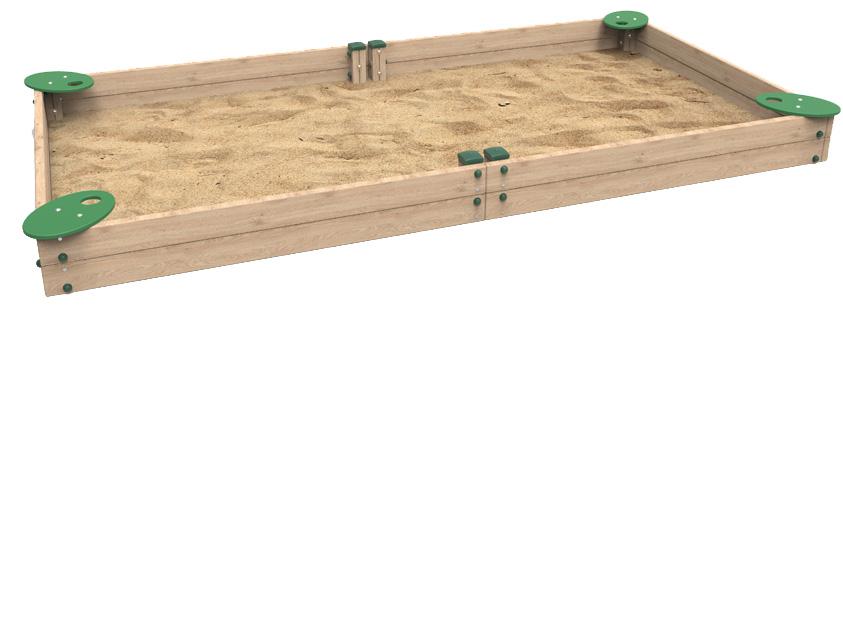Dambis-Playground equipment-Sandbox Kami M