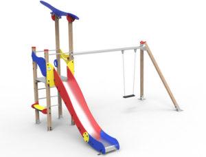 Dambis-Playgrounds-Playground Klasik Basic 1c