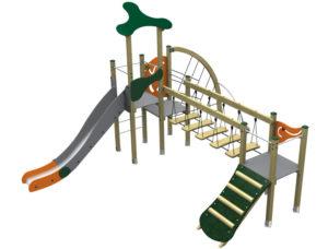 Dambis-Игровые площадки-Klasik Urban 4