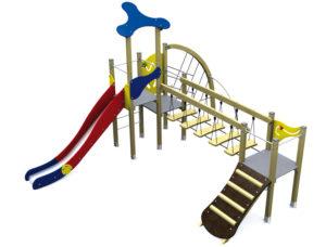 Dambis-Игровые площадки-Klasik Basic 4