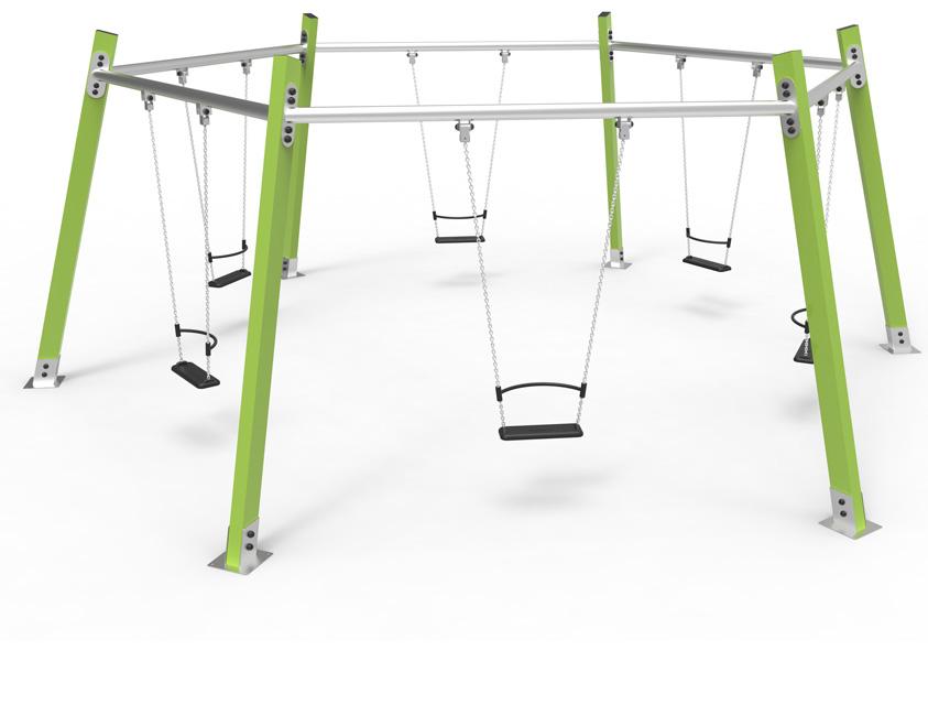 Dambis-Swings-Swing Hexa green