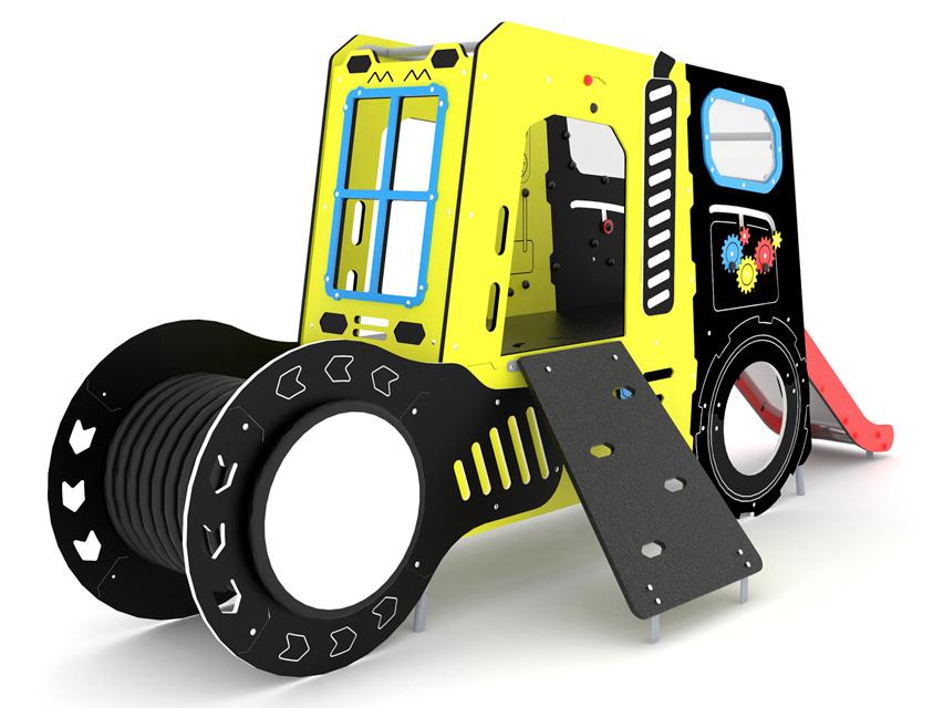 Dambis-Mänguväljaku-element-Traktor