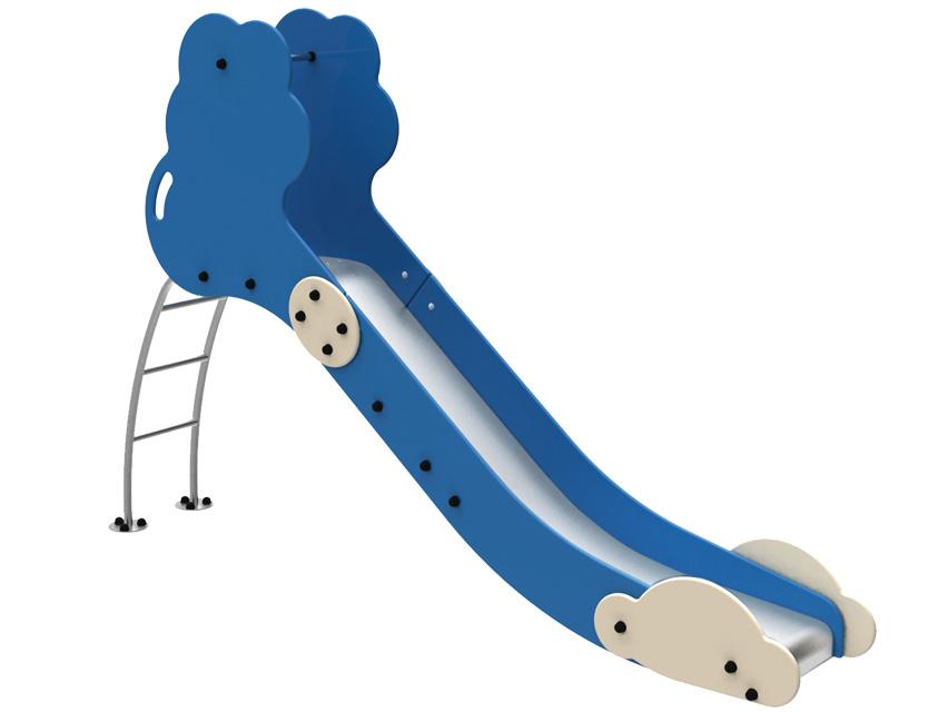 Dambis-Slides-Slide Cloud blue