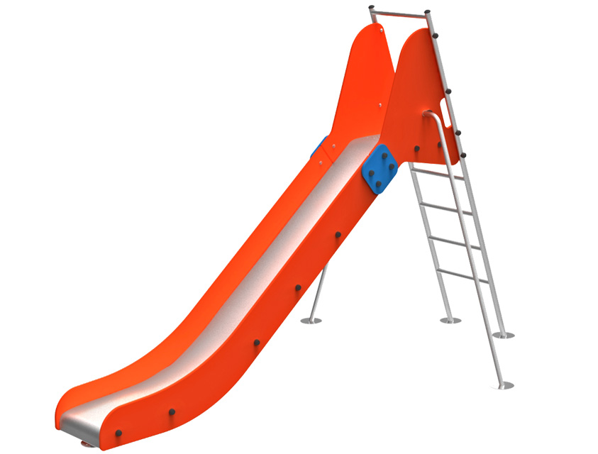 Dambis-Slides-Slide Everest red