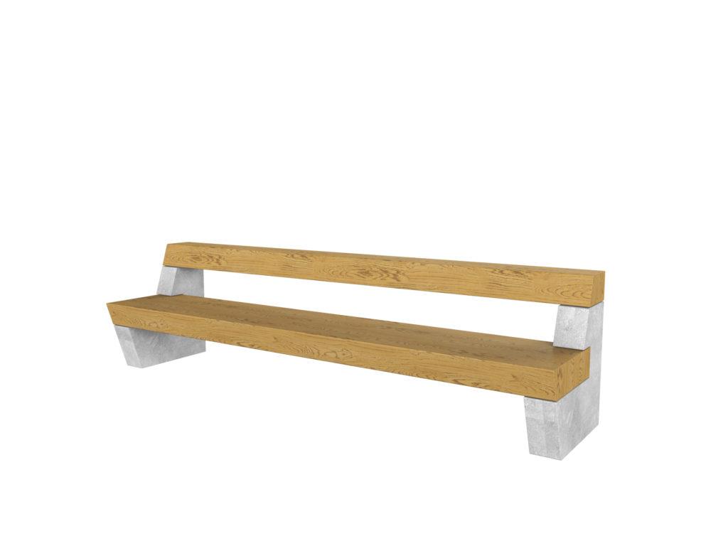 Robusta on kaasaegselt minimalistlik, kuid kaunis pargipink, mille toekas istumis- ja seljatoetamisosa mõjuvad turvaliselt ning pakuvad puhkajale mugavust. Puhas betoonkonstruktsioon mõjub koos puiduga väärikalt. Kvaliteetsed materjalid ja põhjamaisele kliimale iseloomulikud viimistlusvahendid annavad tootele pikaajalise vastupidavuse ja välimuse, muutes Robusta sobivaks nii suur- kui ka väikelinna.