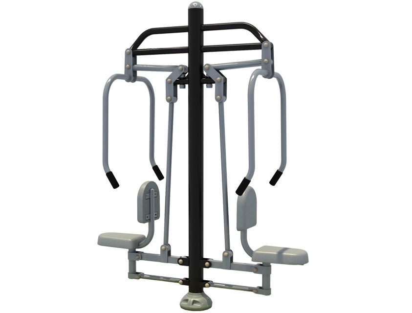 Dambis-Fitnessiväljakud-Treeningseade Õlapress